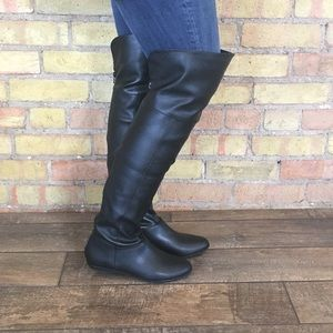 ALDO Fults Black Over The Knee Boot